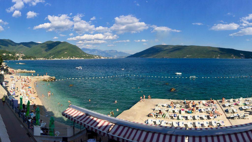 hvor ligger montenegro