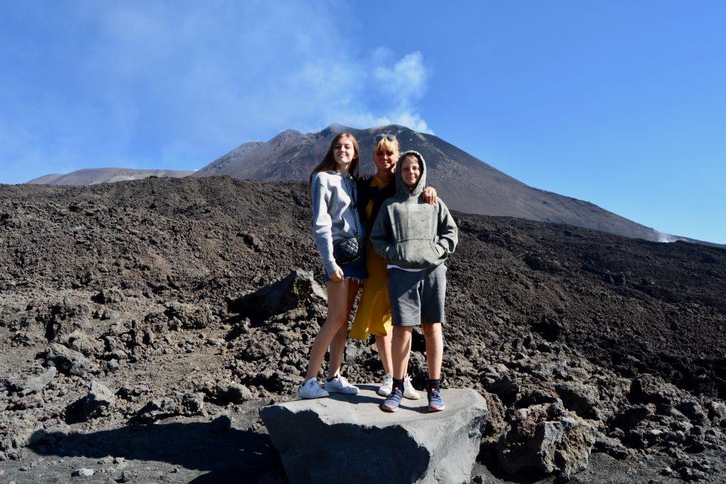 Etna i udbrud