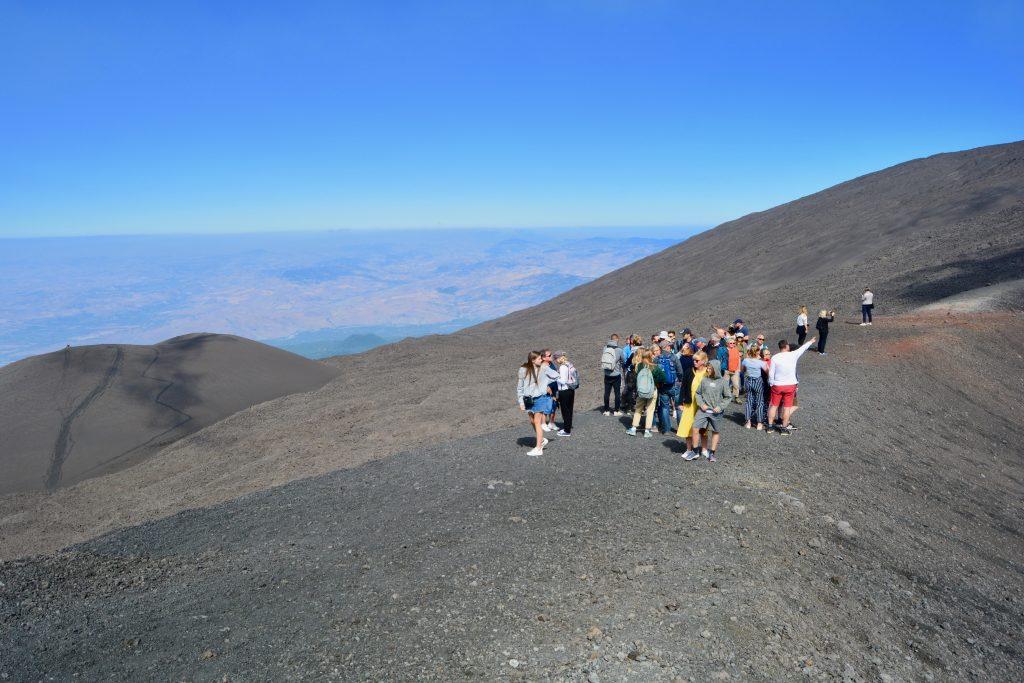 Krater på Etna