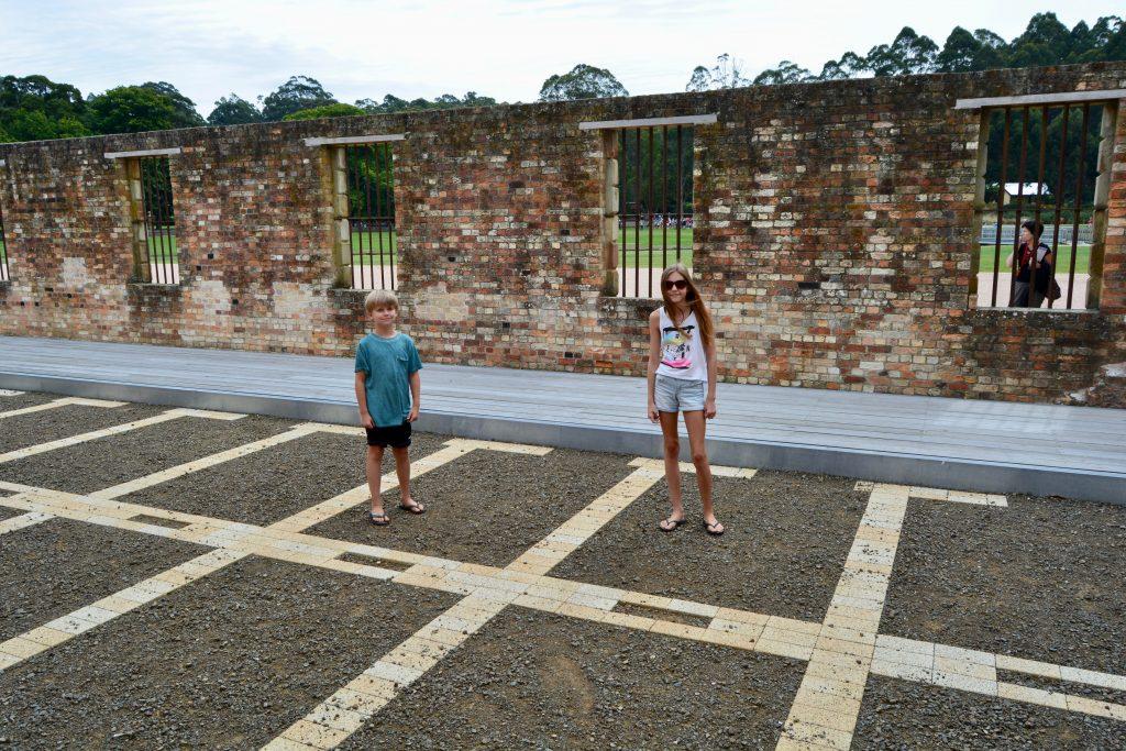 Cellerne i Port Arthur
