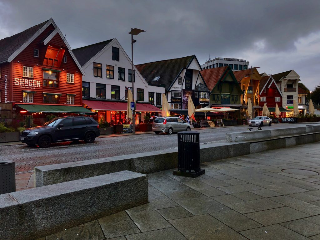 Stavanger ved havnen