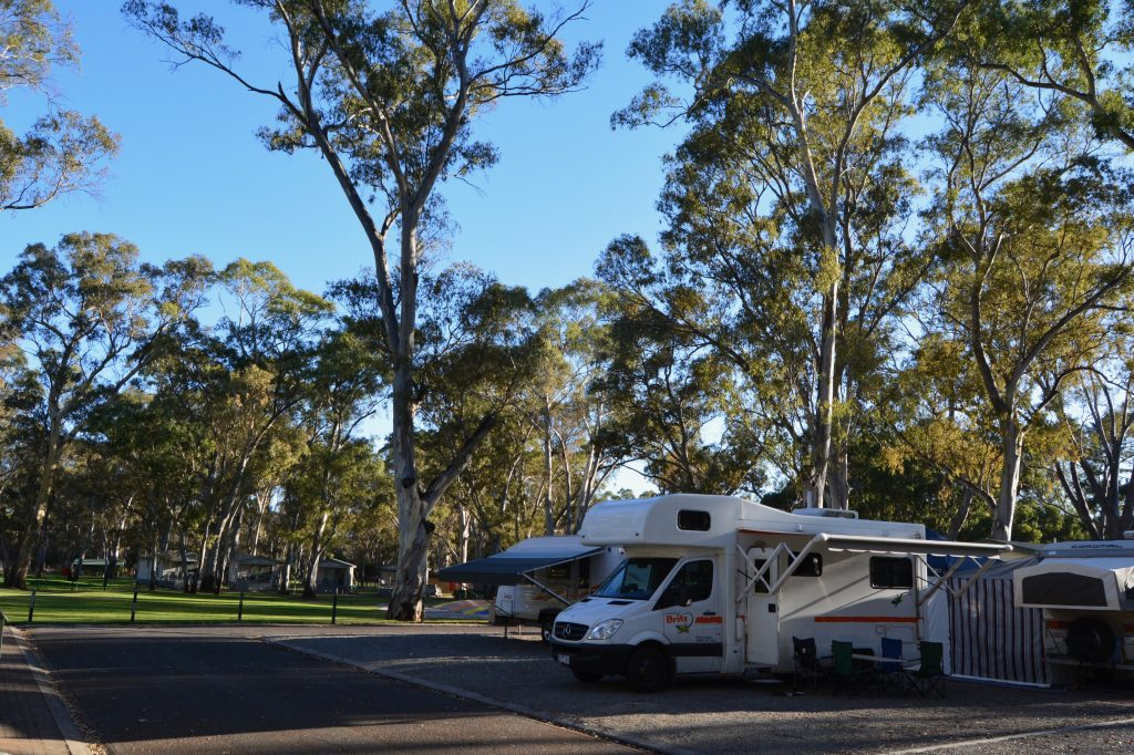 Clare Valley camping