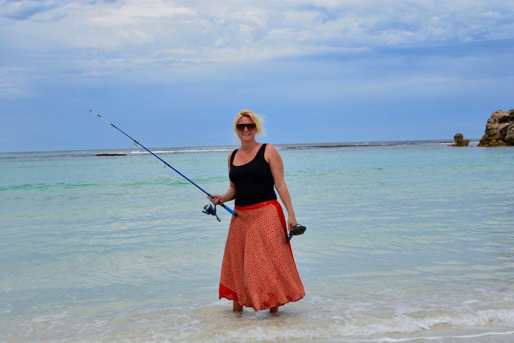 Anja fisker Hanson Bay Kangaroo Island